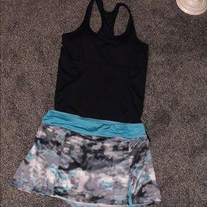 Tennis outfit! 🎾 Prince skirt kyodan tank!